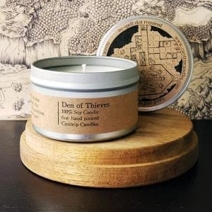 Cantrip Candle - Den of Thieves 6oz