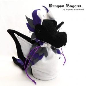 DnD Dice Bag - Ace Pride Dragon 001