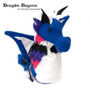 DnD Dice Bag - GenderFluid Pride Dragon 001