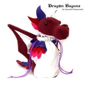 DnD Dice Bag - Lesbian Pride Dragon 001