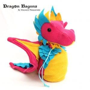 DnD Dice Bag - Pan Pride Dragon 001