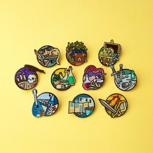 Dungeons and Dragons Subclass Enamel Pins