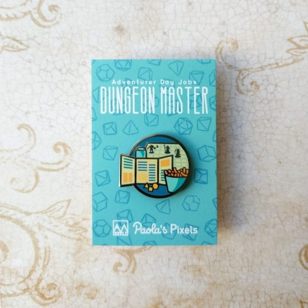Dungeons and Dragons Dungeon Master Enamel Pins