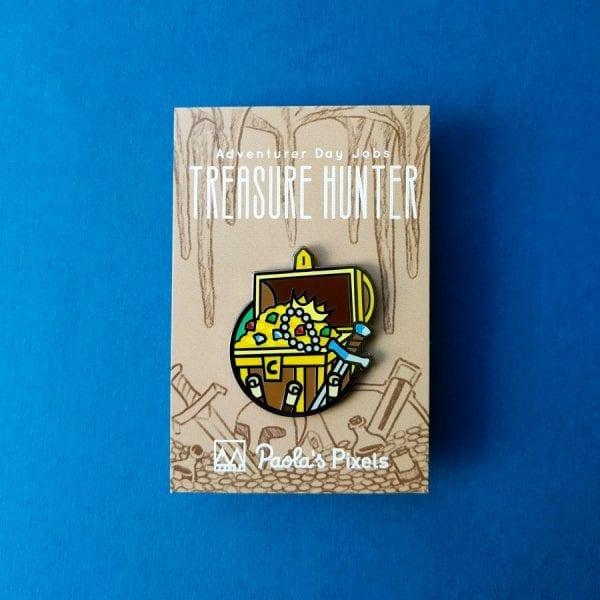 Dungeons and Dragons Treasure Hunter Enamel Pins