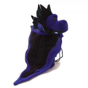 DnD Dice Bags - Dragon Purple & Teal 002