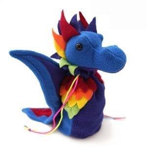 DnD Dice Bags - Dragon Rainbow 002